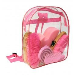 Kit de pansage sac à dos