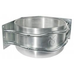 Mangeoire en aluminium pour montage angle