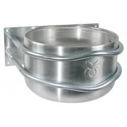 Mangeoire ronde droite en aluminium