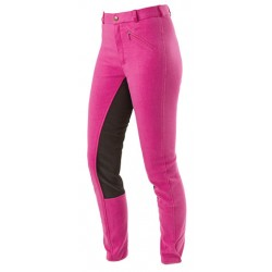 Pantalon ados Economic dark-rose