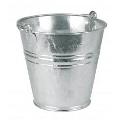 Seau à eau galvanisé