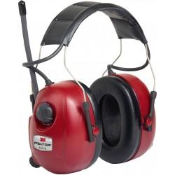 Casque de protection Peltor avec connexion MP3