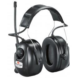 Casque de protection Peltor XP avec radio et connexion MP3