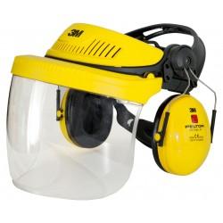 Casque G500 avec visière et protection auditive