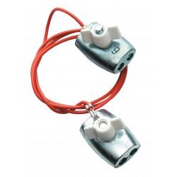 Connecteur haute tension inter-cordelette