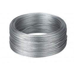 Câble acier 7 fils tressés Ø 1,2mm