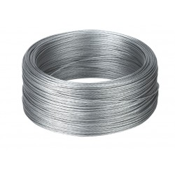 Câble acier, 500m, 19 x 0,3mm, diam. 1,5mm
