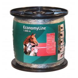 Fil de clôture EconomyLine 2x0.50mm