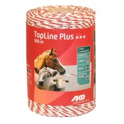 Fil TopLine Plus, 300m, blanc/rouge,  3x0,30 TriCOND