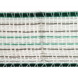 Ruban Premium Line  blanc/vert en 200m, largeur 38mm