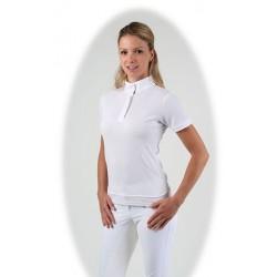 Polo concours Paula, blanc