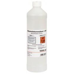 Bouteille d'acide pour batterie 37,4% - 1L