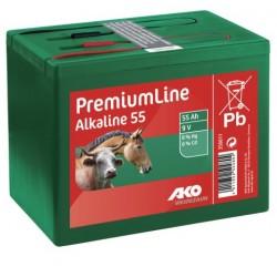 Pile Alcaline AKO 9V 55 Ah