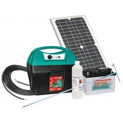 Kit électrificateur Mobil Power AD 2000 digital avec panneau solaire 18W