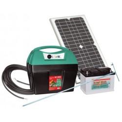 Kit électrificateur Mobil Power AD 3000 avec panneau solaire 25W
