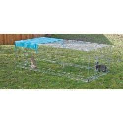 Enclos extérieur avec dispositif anti-fugue