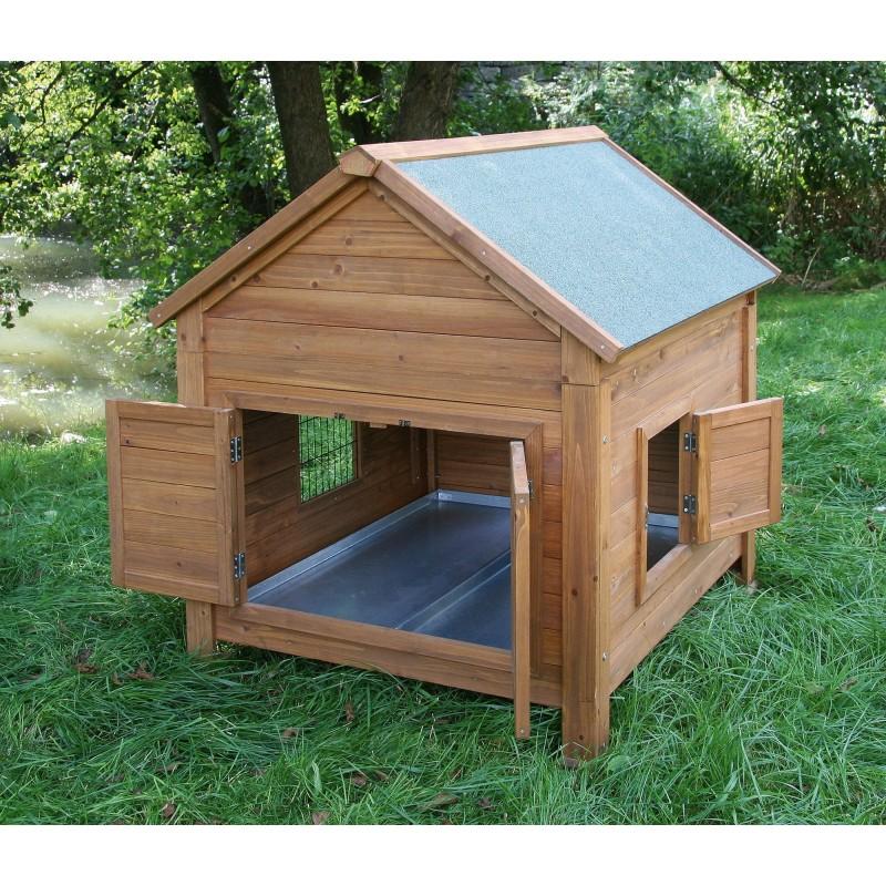 abri pour poules et lapins. Black Bedroom Furniture Sets. Home Design Ideas