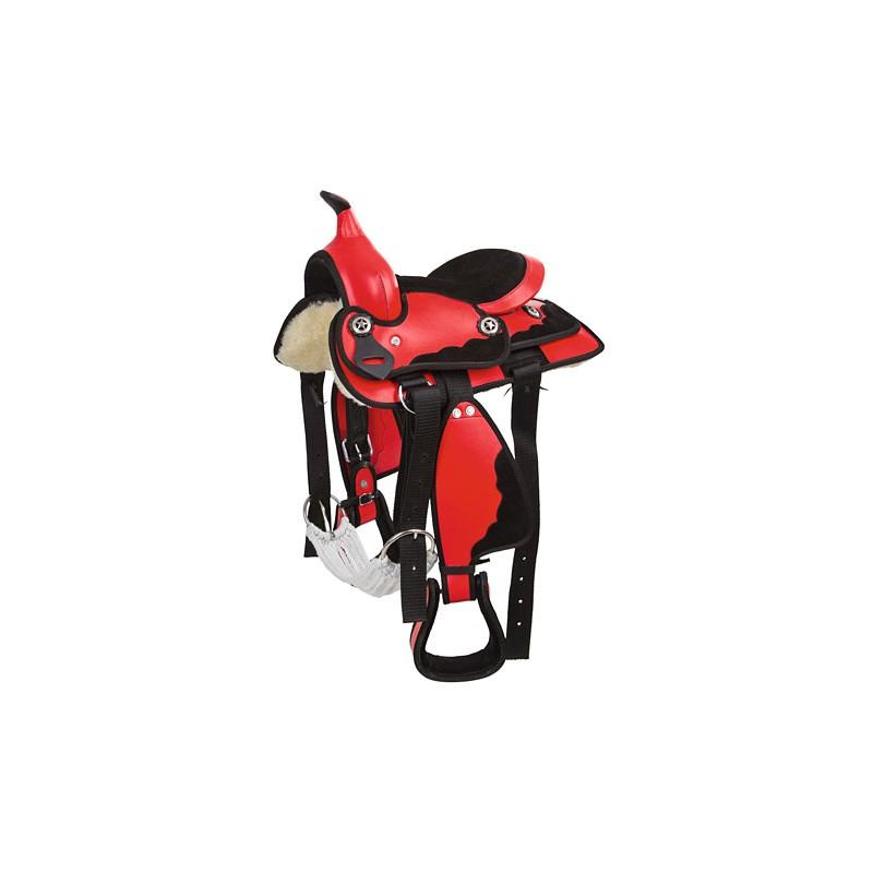 kit selle western taille poney 13. Black Bedroom Furniture Sets. Home Design Ideas