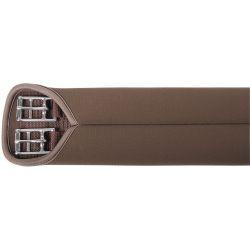 Sangle de dressage néoprène lisse brun