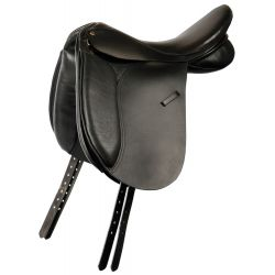 Selle dressage switch en cuir