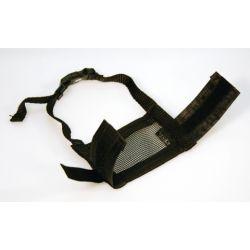 Muselière nylon, noir