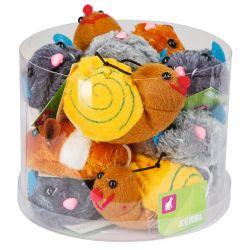 Peluches Tremble Toys vibrante à remonter 7cm