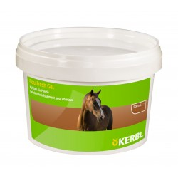 Gel refroidissant pour chevaux à l'effort